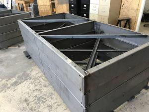 Metal Box Frame Weldments
