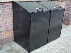 Metal Trash Can Boxes