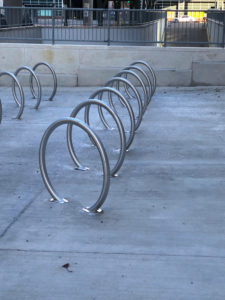 Bike Racks for Coleman A. Young Building